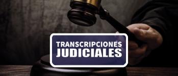 Transcripciones Jurídicas